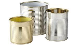 latas de conserva